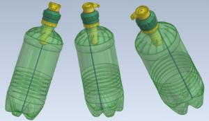 PET palackra szerelhető adagoló rendszer